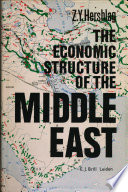 The Economic Structure of the Middle East