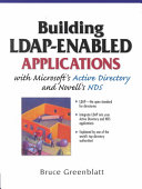 Building Ldap Enabled Applications With Microsoft S Active Directory And Novell S Nds