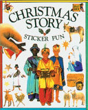 Christmas Story Sticker Fun : santa claus, christmas stockings, presents,...