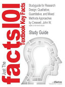 Studyguide for Research Design