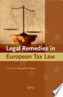 Legal Remedies in European Tax Law