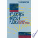 Applied Stress Analysis Of Plastics book