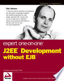 download ebook expert one-on-one j2ee development without ejb pdf epub