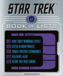 Star Trek: The Book of Lists