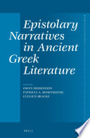 Epistolary Narratives in Ancient Greek Literature