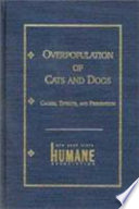 Overpopulation of Cats and Dogs