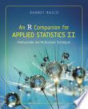 An R Companion For Applied Statistics Ii