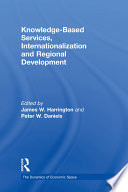 Knowledge Based Services  Internationalization and Regional Development