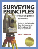 Surveying Principles for Civil Engineers