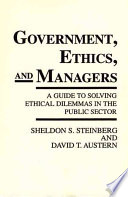 Government  Ethics  and Managers