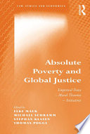 Absolute Poverty and Global Justice