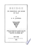 Bridge  Its Principles and Rules of Play