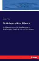 Die Kirchengeschichte Böhmens