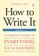 How to Write It, Third Edition