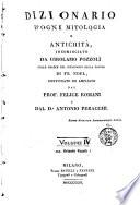 Dizionario d'ogni mitologia e antichità