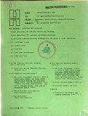 Hcl Cataloging Bulletin