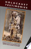 Holocaust Testimonies Book PDF