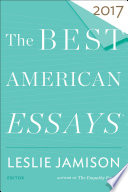 The Best American Essays 2017