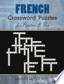 illustration French Crossword Puzzles for Practice and Fun