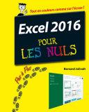 Excel 2016 Pas    pas pour les Nuls