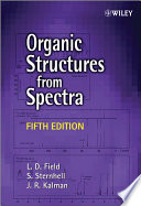 Organic Structures From Spectra book