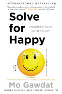 Solve for Happy Book