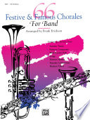 66 Festive And Famous Chorales For Band For 3rd Trombone