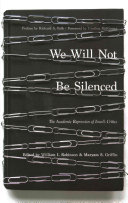 We Will Not Be Silenced book