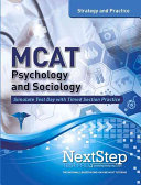 MCAT Psychology and Sociology