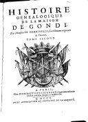 Book Histoire Genealogique de la maison de Gondi