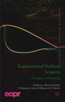 Experimental Political Science