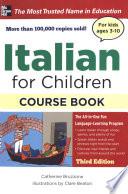 ITALIAN FOR CHILDREN  3E