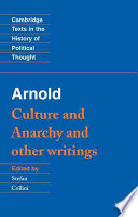 Arnold   Culture and Anarchy  and Other Writings