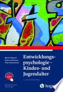 Entwicklungspsychologie – Kindes- und Jugendalter