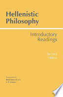 Hellenistic Philosophy  Second Edition