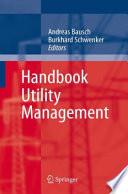 Handbook Utility Management book