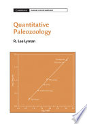 Quantitative Paleozoology