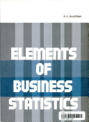 Elements of business statistics