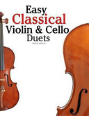 Easy Classical Violin and Cello Duets