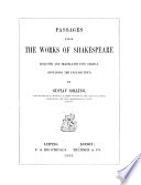 Ausgew  hlte Stellen aus Shakspeare s Werken  etc  Passages from the works of Shakespeare  selected and translated into German     by G  Solling