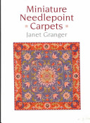 Miniature Needlepoint Carpets Instructions Designs Include Simple Doormat