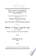 Methods of Clearing Logged off Lands Book PDF