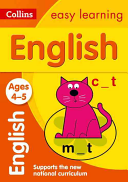 Collins Easy Learning Age 3 5    English Ages 4 5  New Edition