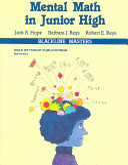 Mental Math in Junior High