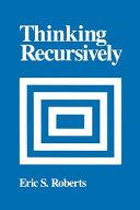 Thinking Recursively Book PDF