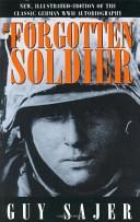 Forgotten Soldier book