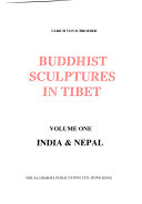 Buddhist sculptures in Tibet  1  India   Nepal