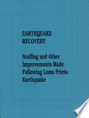 Earthquake Recovery