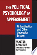 Ebook The Political Psychology of Appeasement Epub Walter Laqueur Apps Read Mobile