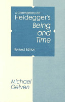 download ebook a commentary on heidegger's being and time pdf epub